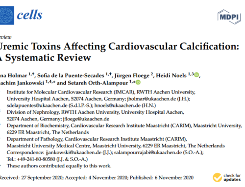 Uremic Toxins Affecting Cardiovascular Calcification: A Systematic Review